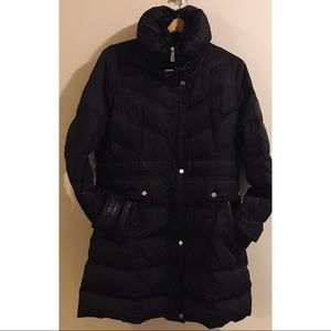 Kenneth Cole Trench Puffer Coat
